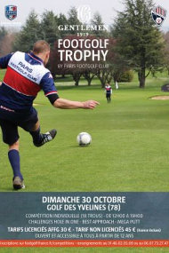 Gentlemen 1919 FootGolf Trophy by Paris Footgolf Club