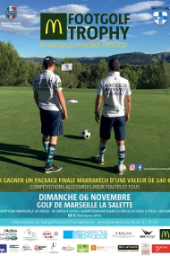 Mc Donald's Footgolf Trophy by Marseille Provence Footgolf - FULL PACKAGE