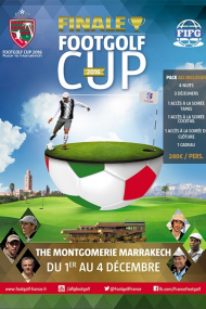 FINALE FOOTGOLF CUP 2016 - PACK ALL INCLUSIVE