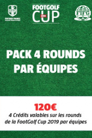 PACK 4 Rounds - Equipe