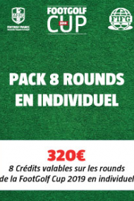PACK 8 Rounds - Individuel