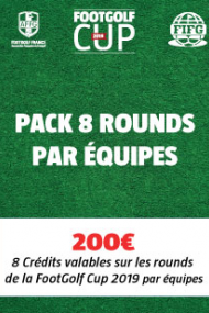 PACK 8 Rounds - Equipe