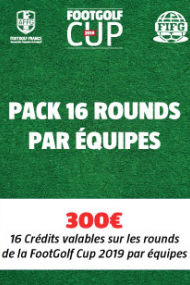 PACK 16 Rounds - Equipe
