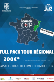 FULL PACK ALSACE FRANCHE COMTE FOOTGOLF TOUR