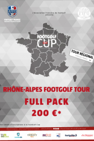 FULL PACK RHONE ALPES FOOTGOLF TOUR