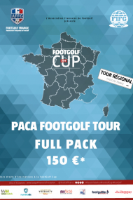 FULL PACK PACA FOOTGOLF TOUR