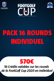3 - PACK 16 ROUNDS INDIVIDUEL