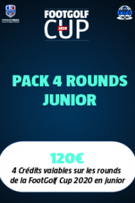 PACK 4 ROUNDS JUNIOR